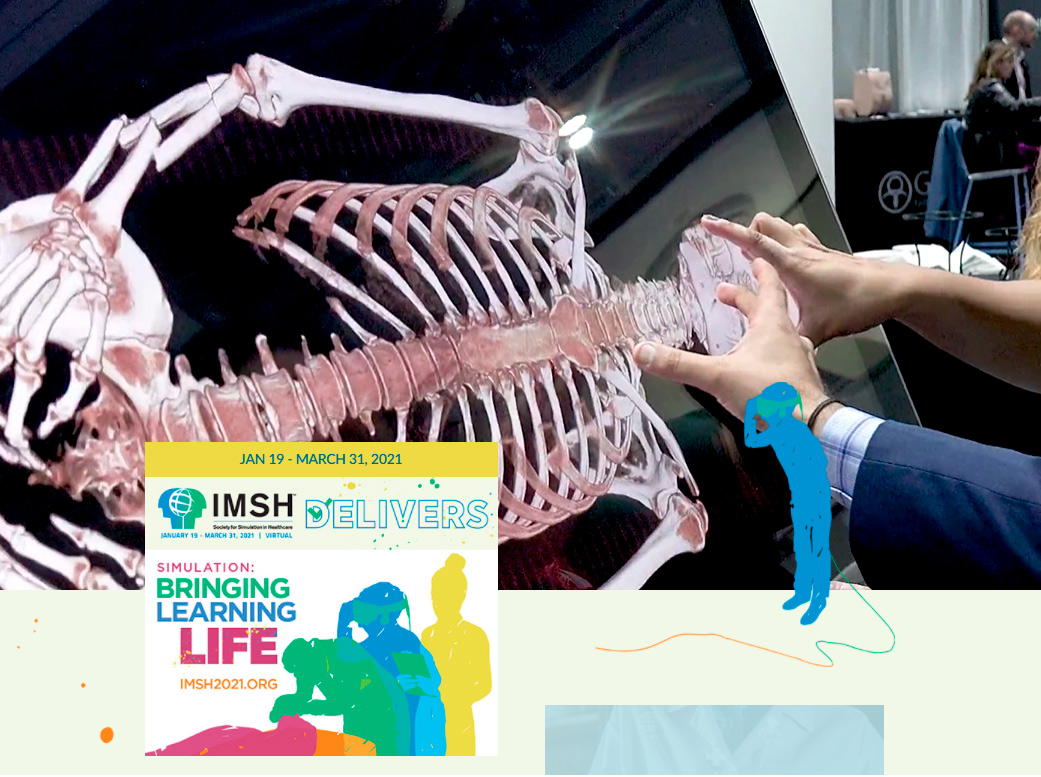 The International Meeting on Simulation in Healthcare (IMSH) – Delivers 2021 (Jan 19 – March 31, 2021)